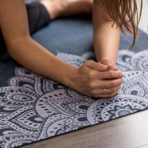 Tappetino yoga da viaggio 1,5 mm - Mandala Sapphire