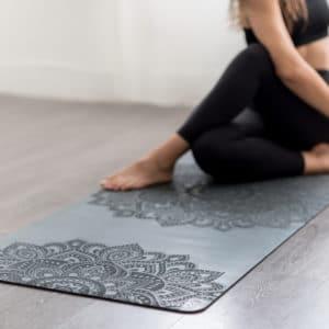 Tappetino Yoga Infinity 5,0 mm - Mandala Antracite