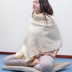 Scialle Meditazione Giallo