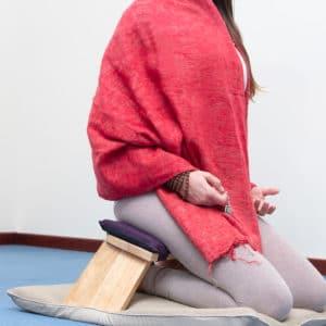 Panchetta Meditazione Fissa Quercia Rossa