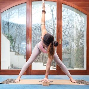 Mattone Yoga in Sughero Medio