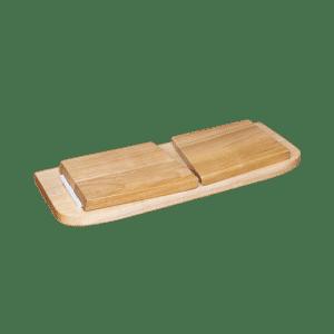 Panchetta Meditazione Pieghevole Quercia